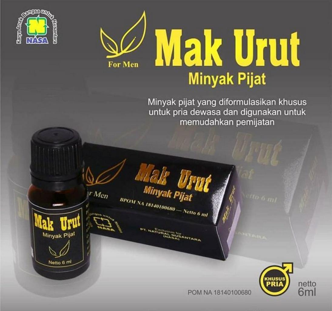 MAK URUT - Minyak Urut Pembesar Alat Vital (Penis)